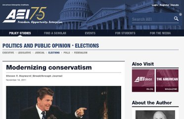 http://www.aei.org/article/politics-and-public-opinion/elections/modernizing-conservatism/