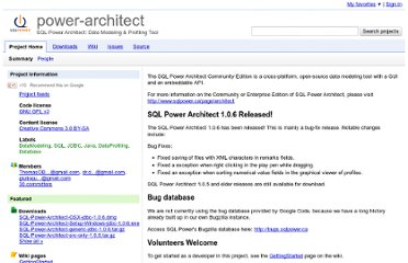 http://code.google.com/p/power-architect/