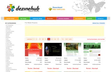 http://freetemplates.dezinehub.com/index.php?id=all&page=12&sort=