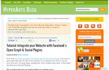 http://www.hyperarts.com/blog/tutorial-integrate-your-website-with-facebooks-open-graph-social-plugins/
