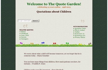 http://www.quotegarden.com/children.html
