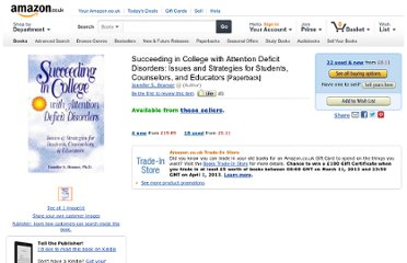 http://www.amazon.co.uk/Succeeding-College-Attention-Deficit-Disorders/dp/1886941068