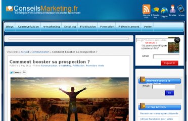 http://www.conseilsmarketing.com/e-marketing/comment-booster-sa-prospection#more-8045