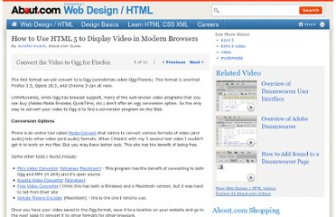 http://webdesign.about.com/od/video/ss/html5-video_5.htm