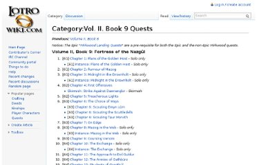 http://lotro-wiki.com/index.php/Category:Vol._II._Book_9_Quests