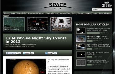 http://www.space.com/14085-12-amazing-skywatching-events-2012.html
