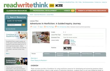 http://www.readwritethink.org/classroom-resources/lesson-plans/adventures-nonfiction-guided-inquiry-183.html
