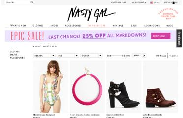 http://www.nastygal.com/whats-new/?sort=featured&page=4