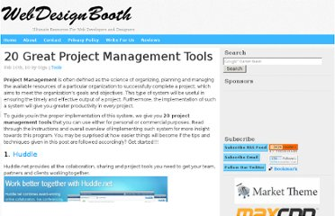 http://www.webdesignbooth.com/project-management-tools/