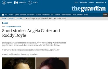 http://www.guardian.co.uk/books/booksblog/2011/dec/31/short-stories-angela-carter-roddy-doyle