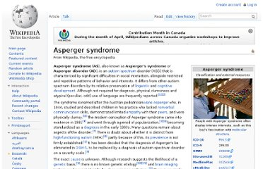 http://en.wikipedia.org/wiki/Asperger_syndrome