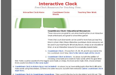 http://www.interactiveclock.com/countdown-clocks.php