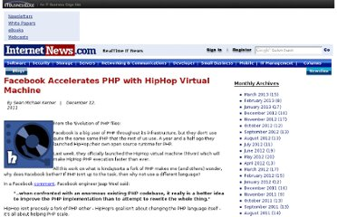 http://www.internetnews.com/blog/skerner/facebook-accelerates-php-with-hiphp-virtual-machine.html