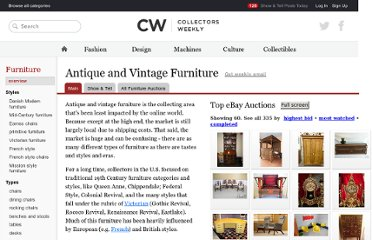 http://www.collectorsweekly.com/furniture/overview