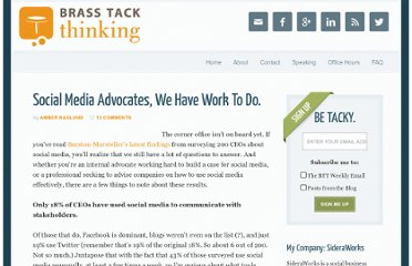 http://www.brasstackthinking.com/2008/11/social-media-advocates-we-have-work-to-do/