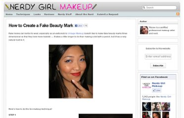 http://www.nerdygirlmakeup.com/2010/06/29/how-to-create-a-fake-beauty-mark/