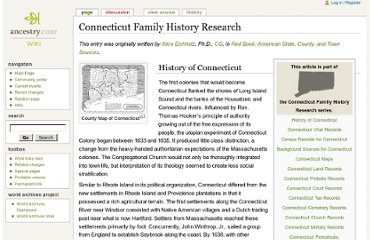 http://www.ancestry.com/wiki/index.php?title=Connecticut_Family_History_Research