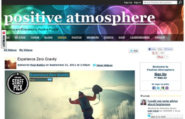 http://positiveatmosphere.com/video/experience-zero-gravity