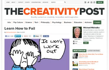 http://www.creativitypost.com/create/learn_how_to_fail