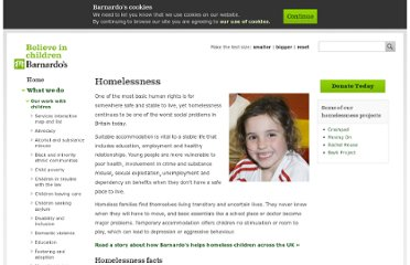 http://www.barnardos.org.uk/what_we_do/our_projects/homelessness.htm