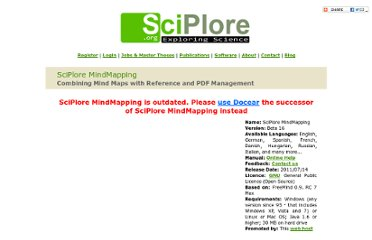http://www.sciplore.org/software/sciplore_mindmapping/