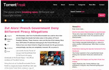 http://torrentfreak.com/zut-alors-french-government-deny-bittorrent-piracy-allegations-120101/