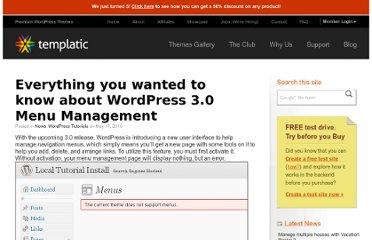 http://templatic.com/news/wordpress-3-0-menu-management/