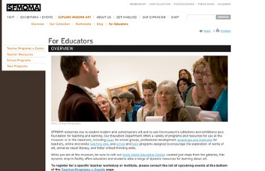 http://www.sfmoma.org/explore/educators