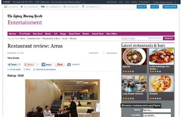 http://www.smh.com.au/entertainment/restaurants-and-bars/restaurant-review-arras-20111210-1oo7s.html