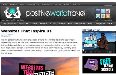 http://positiveworldtravel.com/inspiring-websites/
