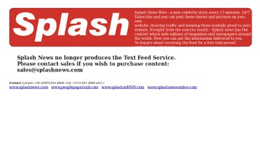 http://splash.mainstreamdata.com/splashrss/