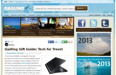 http://www.gadling.com/2011/12/08/gadling-gift-guide-tech-for-travel/