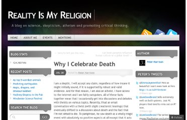 http://realityismyreligion.me/2011/07/28/why-i-celebrate-death/