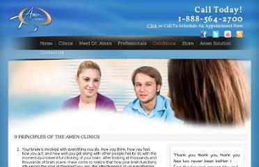 http://www.amenclinics.com/clinics/information/9-principles-of-the-amen-clinics/