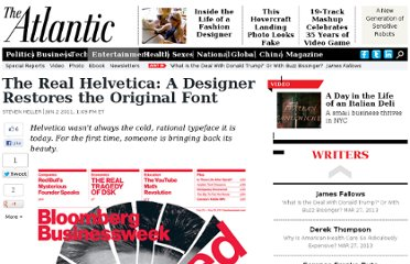 http://www.theatlantic.com/entertainment/archive/2011/06/the-real-helvetica-a-designer-restores-the-original-font/239827/