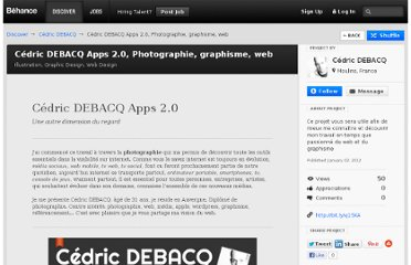 http://www.behance.net/gallery/Cdric-DEBACQ-Apps-20-Photographie-graphisme-web/2777239
