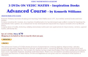 http://www.vedicmaths.org/DVD/DVD%20-%20Advanced.asp