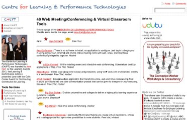 http://c4lpt.co.uk/directory-of-learning-performance-tools/web-meetingconferencing-virtual-classroom-tools/