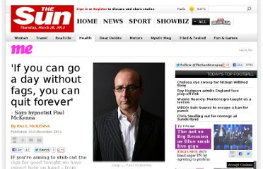 http://www.thesun.co.uk/sol/homepage/woman/health/health/4029723/If-you-can-go-a-day-without-fags-you-can-quit-forever-TV-hypnotist-Paul-McKenna-gives-his-six-step-plan-to-quitting-cigarettes-for-good.html