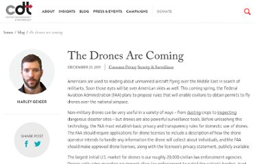 http://cdt.org/blogs/harley-geiger/2112drones-are-coming
