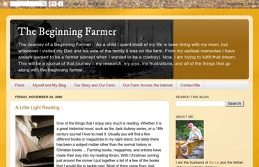 http://thebeginningfarmer.blogspot.com/search?updated-min=2005-12-31T22:00:00-08:00&updated-max=2006-12-31T22:00:00-08:00&max-results=7