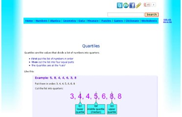 http://www.mathsisfun.com/data/quartiles.html