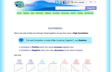 http://www.mathsisfun.com/data/correlation.html