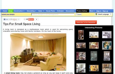 http://www.gharexpert.com/articles/Living-Room-1610/Tips-Small-Space-Living_0.aspx
