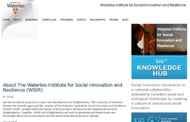 http://sig.uwaterloo.ca/about-the-waterloo-institute-for-social-innovation-and-resilience-wisir