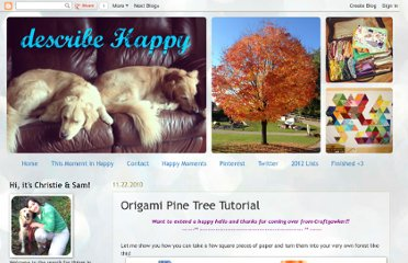 http://describehappy.blogspot.com/2010/11/origami-pine-tree-tutorial.html