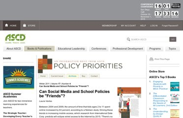 http://www.ascd.org/publications/newsletters/policy-priorities/vol17/num04/Can-Social-Media-and-School-Policies-be-%C2%A3Friends%C2%A3%C2%A2.aspx