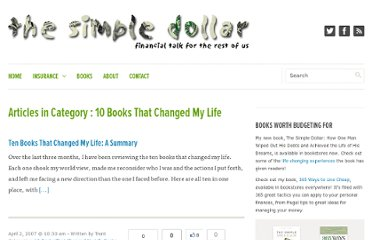 http://www.thesimpledollar.com/category/10-books-that-changed-my-life/