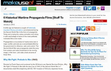 http://www.makeuseof.com/tag/6-historical-wartime-propaganda-films-stuff-watch/