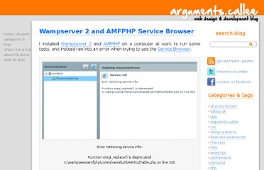 http://arguments.callee.info/2009/09/05/wampserver-2-and-amfphp-service-browser/